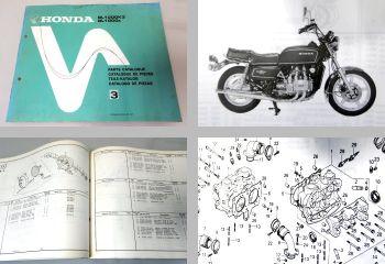 Ersatzteilkatalog Honda GL1000K3 GL1000z Ersatzteilliste 1979