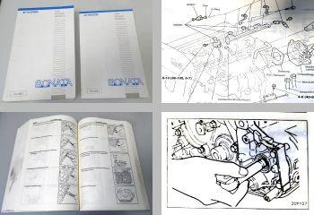 Werkstatthandbuch Hyundai Sonata 1996 Reparatur 2 Bände