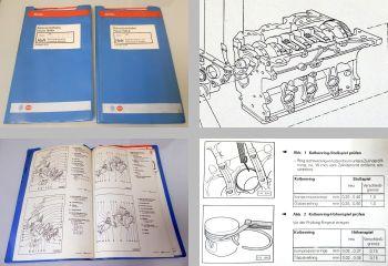 Werkstatthandbuch VW Passat 35i B4 Reparaturanleitungen 2,0l Motor 110 kW ABF