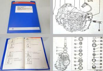 VW Passat B5 3B syncro 4x4 5 Gang-Schaltgetriebe 01A - Reparaturanleitung