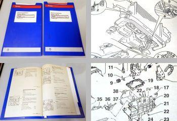 VW Passat B5 Typ 3B 5 Gang Automatikgetriebe 01V Reparaturanleitung CJQ DDT DEP