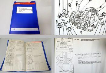 Reparatur VW Passat B5 3B Schaltgetriebe 01E 0A1 DQS ELN ELQ Z Werkstatthandbuch