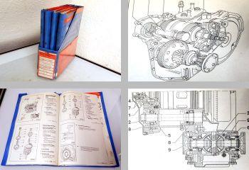 Reparaturleitfaden VW Passat B4 Werkstatthandbücher Getriebe 02A 02C 01M 096