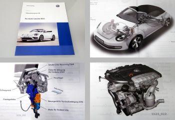 SSP 523 VW Das Beetle Cabriolet 5C 2013 Service Training VW Reparaturwerkstatt