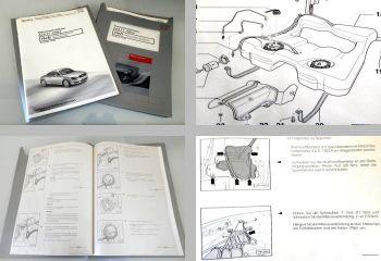 Reparaturleitfaden Audi TT 8N Kraftstoffversorgung Radio Navi Werkstatthandbuch