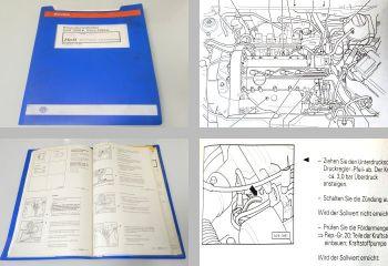 Reparaturleitfaden VW Golf 4 IV Bora Werkstatthandbuch 4LV Einspritzanlage ATN