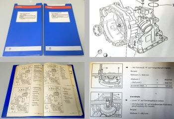 VW Lupo Automatikgetriebe DPB Reparaturhandbuch Werkstatthandbuch + Diagnose