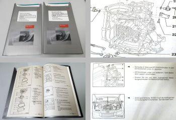Reparaturleitfaden Audi Cabriolet Automatisches Getriebe 01N Werkstatthandbuch