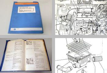 Reparaturleitfaden VW Golf 3 Vento Werkstatthandbuch Digifant 2E