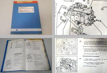 Reparaturleitfaden VW Golf 3 1.9 Diesel Einspritzanlage 1Y AAZ Werkstatthandbuch