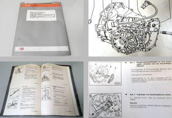 Reparaturleitfaden Audi A8 quattro 01A Getriebe Werkstatthandbuch CSU CUU