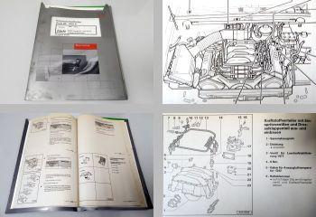 Reparaturleitfaden Audi 80 B4 Werkstatthandbuch V6 MPFI Einspritzanlage ABC ACZ