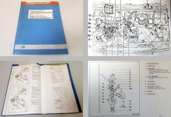 Reparaturleitfaden Audi 80 90 B3 Mono-Jetronic PM bis 7.1990 Werkstatthandbuch