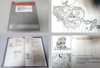 Reparaturleitfaden Audi A6 C5 quattro Getriebe 01A DJJ DJR DJS Werkstatthandbuch