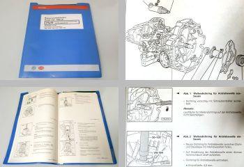 Werkstatthandbuch Audi 100 A6 C4 5/6 Gang Getriebe 01E Reparaturleitfaden Front.