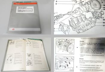 Werkstatthandbuch Audi 100 A6 C4 Reparatur 6 Zyl. Motor 2,8l 142kW ACK