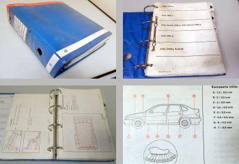 Reparatur VW Lupo Polo II 86 86C 6N Karosserie Instandsetzung Werkstatthandbuch