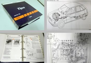 Reparatur Fiat Tipo Baureihe 93 Werkstatthandbuch 1993 - 1995