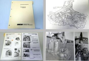 Werkstatthandbuch Fiat Tipo Uno Tempra Punto Regata Getriebe Reparatur1990