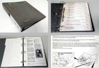 Werkplaatshandboek Mercedes Benz Vito Multipoint gasinjectie M111 E20