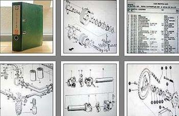 Claas Mercator 75 Ersatzteilliste ca. 70er Jahre