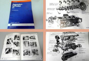 VW LT ab 1975 4-Zyl. 2,0l Benzinmotor 65-75 PS Reparaturanleitung CH CL 1989