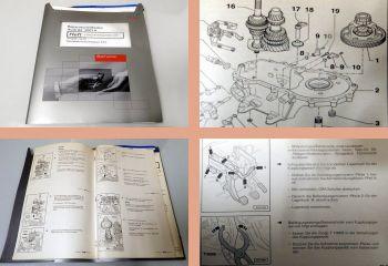 Werkstatthandbuch Audi A2 8Z ab 2001 02T Getriebe EYX Reparaturhandbuch
