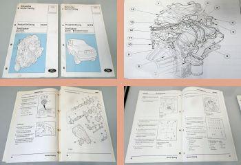 Werkstatthandbuch Ford Explorer Motor Karosserie / Fahrwerk Schulung 1995