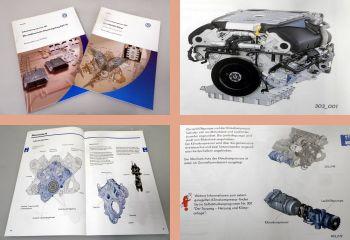 SSP 303 304 VW Touareg Phaeton Motor V10 TDI AYH AJS EDC Selbststudienprogramm
