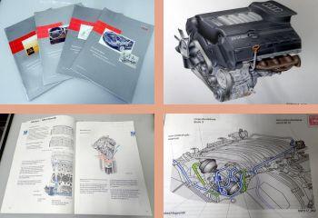 SSP 213 217 219 236 Audi A8 Typ D2 4D Selbststudiensprogramme
