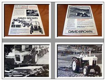 David Brown 990, 995, 1210 Schlepper Prospekt