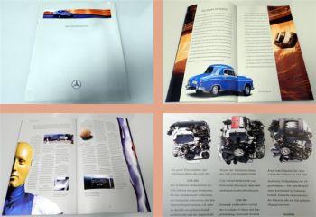 Mercedes Benz CLK200, CLK230 Kompressor, CLK320 Prospekt 1997