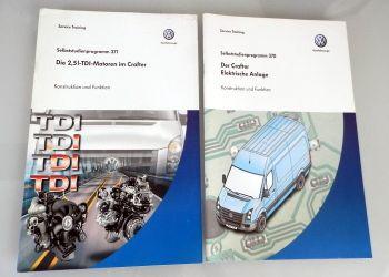 SSP 370 + SSP 371 VW Crafter Konstruktion Funktion Motor elektr. Anlage