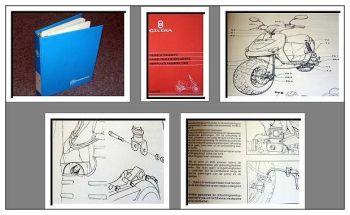 Werkstatthandbuch Gilera Stalker Piaggio Motorroller Reparaturanleitung 1997