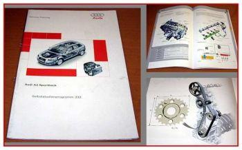 SSP 332 Audi A3 Sportback Konstruktion + Funktion 2004 Schulung