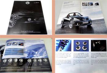 Mercedes Benz SLK 55 AMG SLK200 Carlsson CM55K/CK20 Prospekt ca