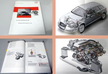 SSP 344 Audi A6 Avant C5 mit 2,7l V6 BPP Motor 2005 Selbststudienprogramm