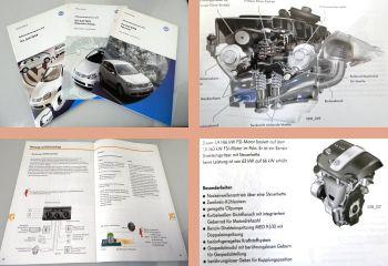 SSP 318 319 321 VW Golf 5 Typ 1K ab 2004 Selbststudienprogramme