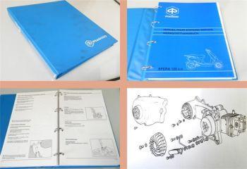 Werkstatthandbuch Piaggio Sfera 125ccm Reparaturanleitung 1995