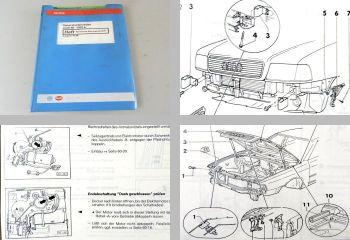 Reparaturleitfaden Audi 80 B4 1992 Karosserie Montagearbeiten Werkstatthandbuch