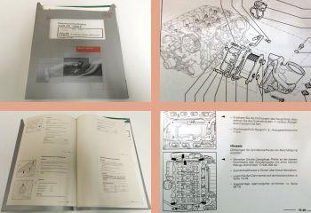 Werkstatthandbuch Audi A6 Reparaturanleitung V8 Motor ARS+AQG+AQJ+ASG+ANK