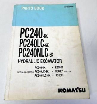 Ersatzteilkatalog Komatsu PC240-6K PC240LC/NLC-6K Hydraulic Exca