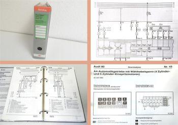 Werkstatthandbuch Audi 80 B4 Typ 8C ab 1994 auch S2 Stromlaufpl