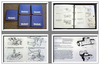 Werkstatthandbuch DAF F2300 F2500 F2700 LKW Reparaturanleitung c