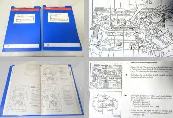 Werkstatthandbuch VW Lupo 4 Zyl. Einspritzmotor & Motronic (1,0l 37kW) AER ALL