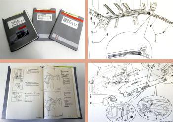 3 Reparaturleitfaden Audi A3 8L Karosserie Montagearbeiten Werkstatthandbuch