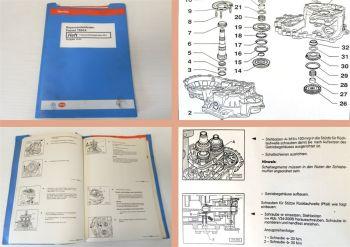 Reparaturleitfaden VW Passat B4 Werkstatthandbuch 5Gang Getriebe 02A