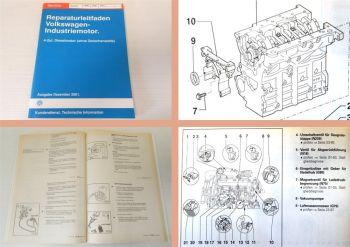 Reparaturleitfaden VW 4 Zylinder Dieselmotor ARD AVM BEQ Industriemotor 2001