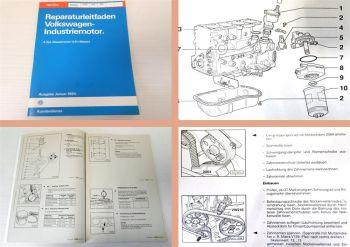Reparaturleitfaden VW 4 Zylinder Dieselmotor 028.B ADE ADG Werkstatthandbuch