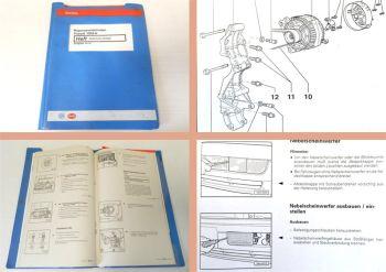Reparaturleitfaden VW Passat B4 Typ 3A Werkstatthandbuch Elektrik 1997